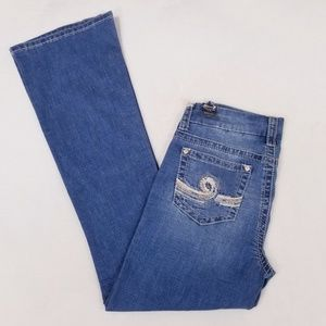 Seven7 Bootcut Bling Pocket Jeans - Size 8 - NWT